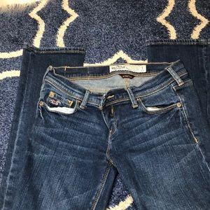 Sz 1 short ankle Hollister jeans